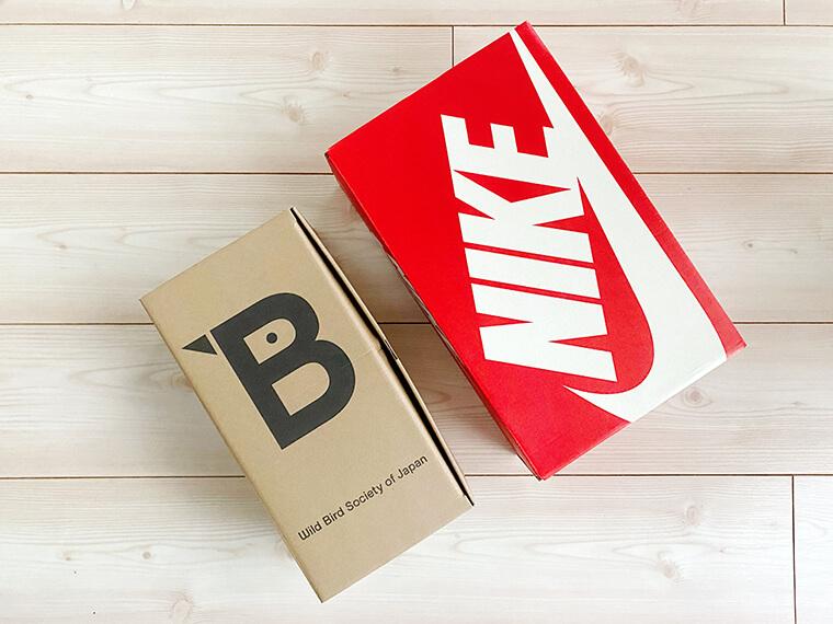 日本野鳥の会の靴箱