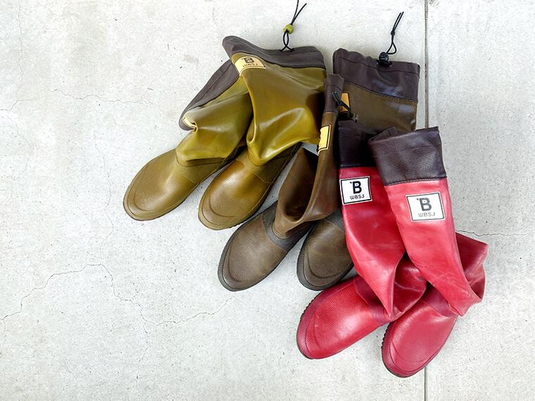 カラー豊富な日本野鳥の会の長靴