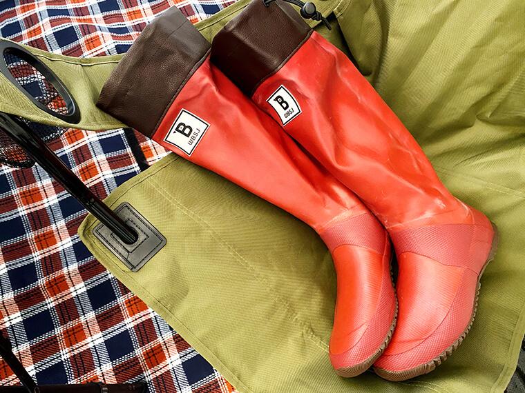 買って損なし!日本野鳥の会の長靴