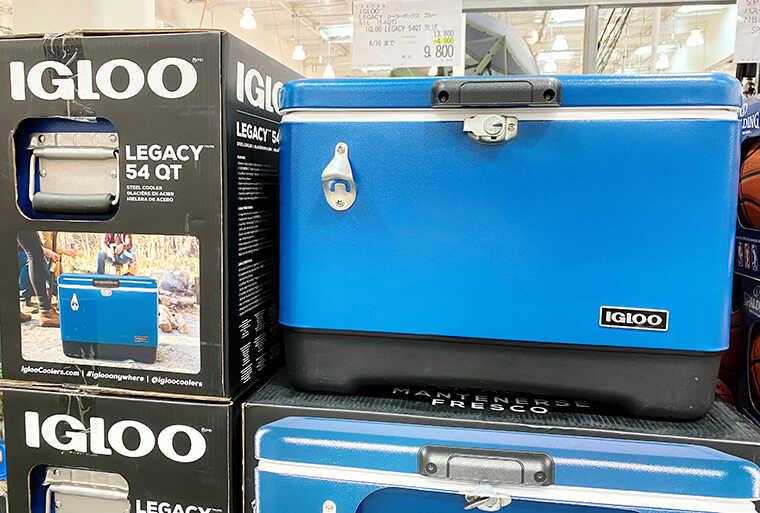 IGLOOのクーラーボックス画像