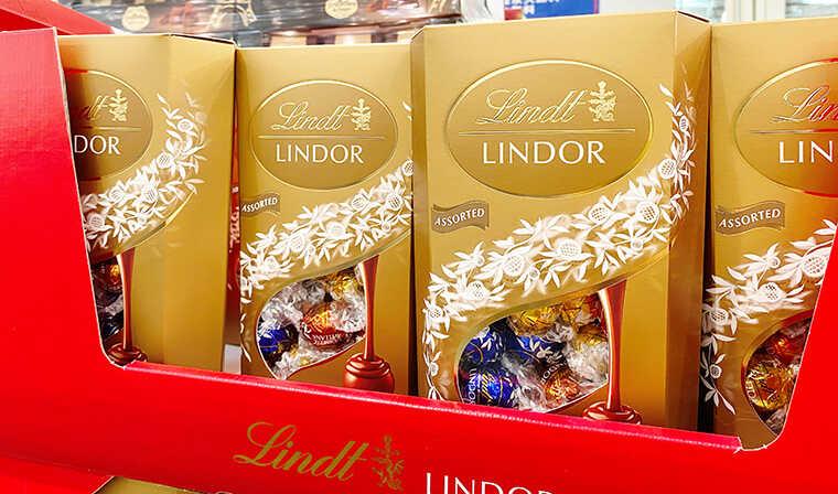 リンツリンドール、アソートのチョコ画像
