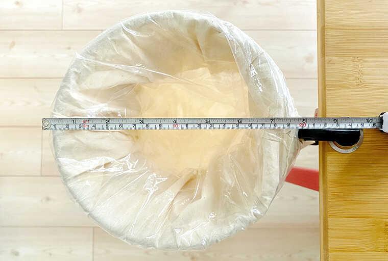 トラッシュリングクランパーの直径