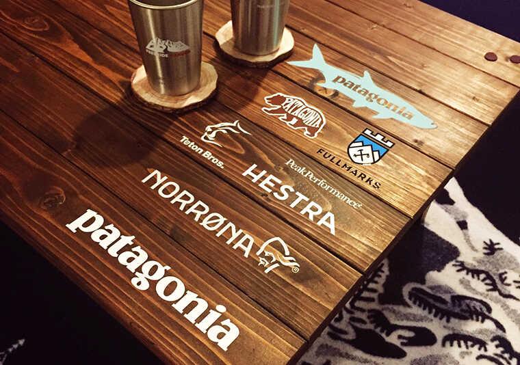 トラッシュリングクランパーをつけるテーブル画像