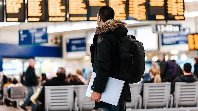 2021コロナ禍でのカナダ留学空港編_空港イメージ画像