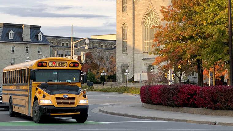 コロナ禍でもカナダ留学できる2021-2!記事のカナダ通学画像